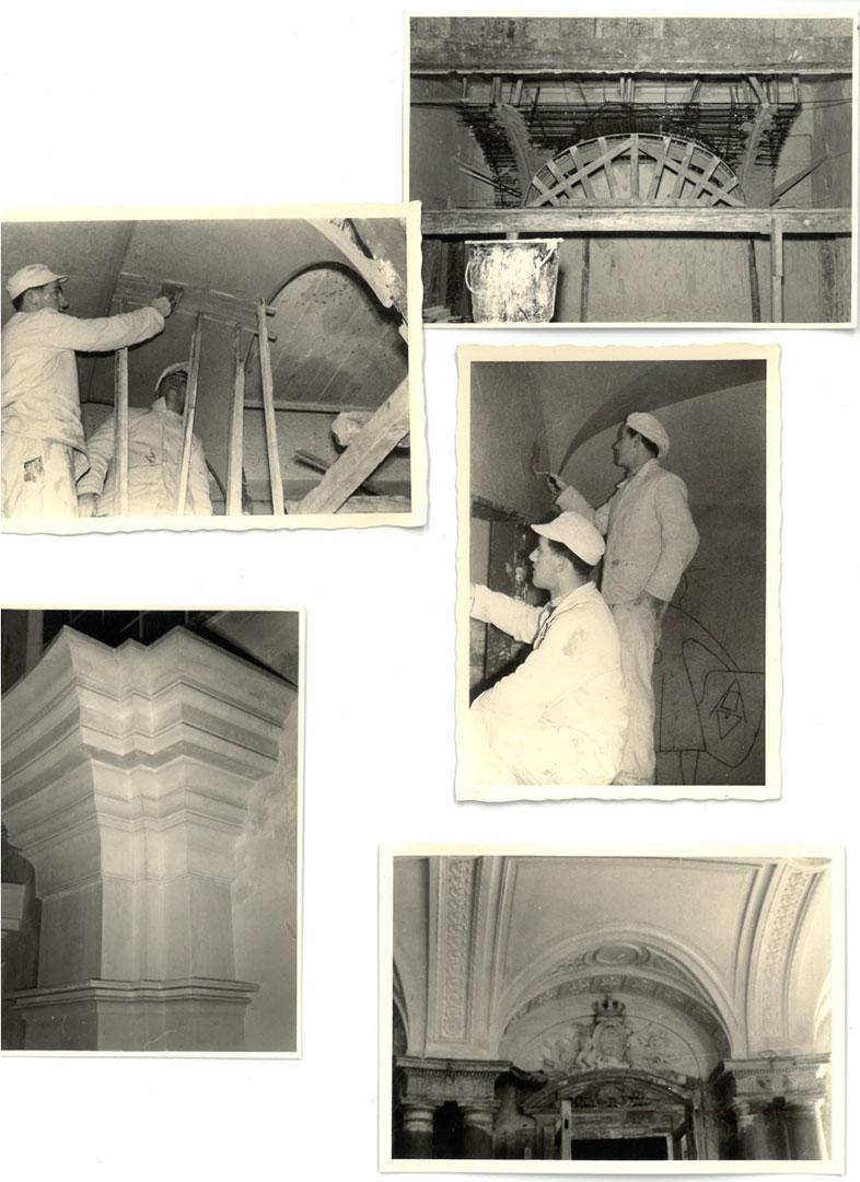 Horn Maler und Stuckateure Firmengeschichte Collage