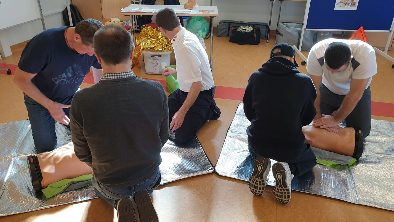 Erste Hilfe Lehrgang Maler Stuckateure Horn 02