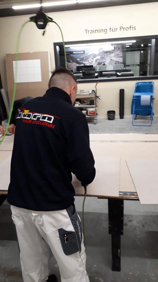 Frescolori Schulung Maler Stuckateure Renchen 02